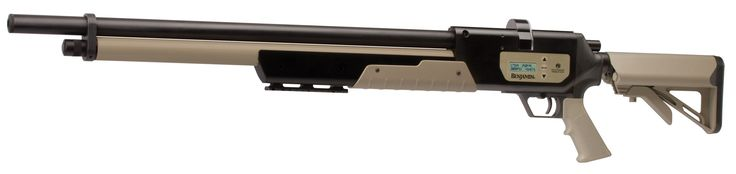 Crosman: Benjamin Rogue .357 - The patent pending eVALVE technology of the Rogue provides precise regulation of pressure in the air reservoir and provides more shots per fill, through the efficient control of pressure. Choose from two power settings, High Power for large game like hogs and coyotes or Medium Power for raccoons, bobcats and fox, then select your bullet grain weight, Heavy or Light. The Rogue will then release only the precise amount of air you need to make the shot.