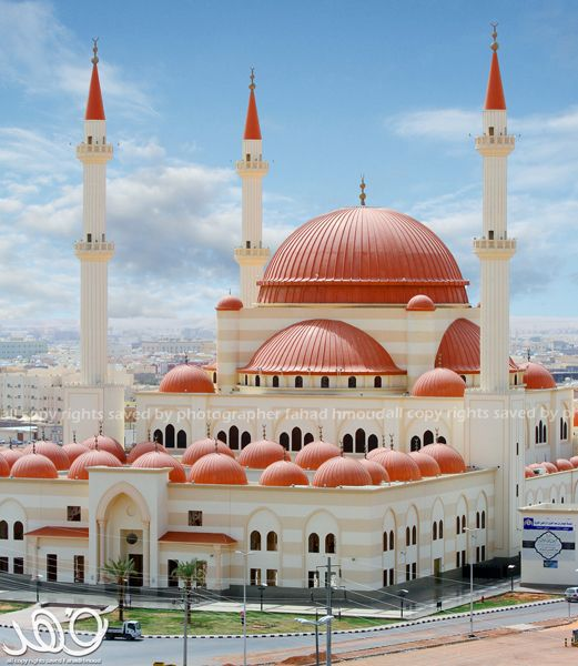 Sulaiman Al-Rajhi Mosque in Hail, Saudi Arabia