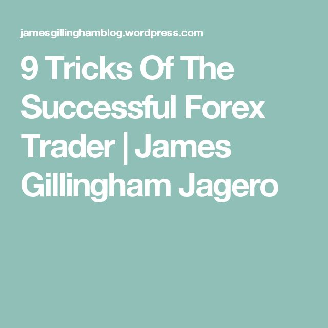 9 tricks of the successful forex trader