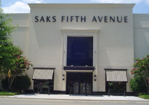 SAKS FIFTH AVENUE - RICHMOND  (#671), Stony Point Fashion Park, 9214 Stony Point Parkway, Richmond, VA  23235.