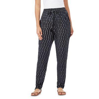 The Collection Navy paisley print trousers | Debenhams