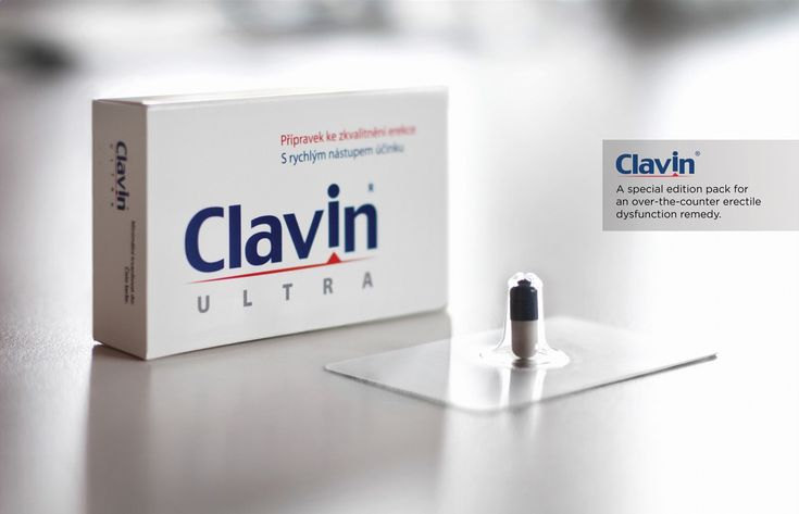 Clavin The Erection Blister - This was packaging was created by Ogilvy  Mather / Prague.