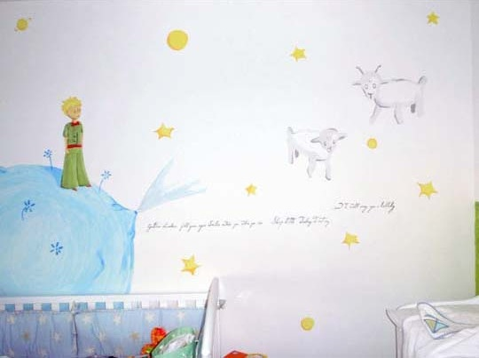The Little Prince mural