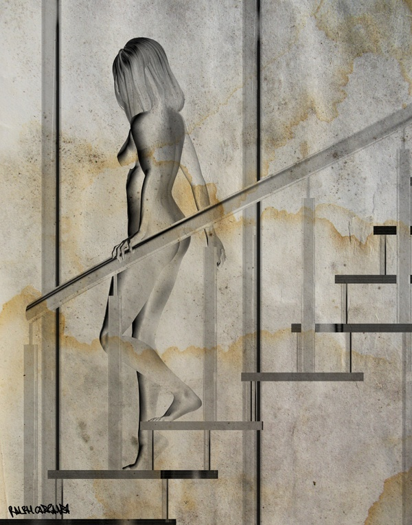 Nude Duck Descending A Staircase 113