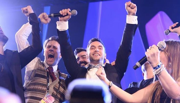 Måns Zelmerlöw: Måns Zelmerlöw Eurovision Second Rehearsal