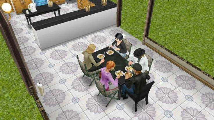 Comida en familia 😀