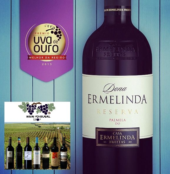 Auszeichnung Uva d'Ouro  http://weinportugalshop.de/tinto/266-dona-ermelinda-reserva-2014-red-wine-5608527000449.html