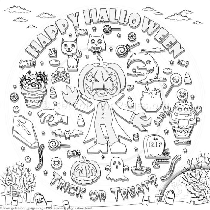 18 Happy Halloween Coloring Pages Getcoloringpages Org Coloring Coloringbook Coloringpages Co Halloween Coloring Halloween Coloring Pages Coloring Pages