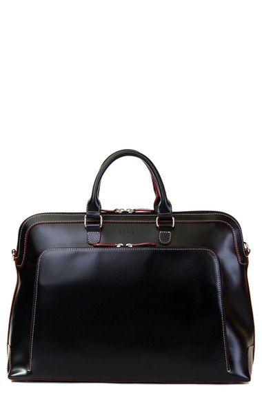 Lodis Audrey Brera black leather briefcase $318                                                                                                                                                                                 More