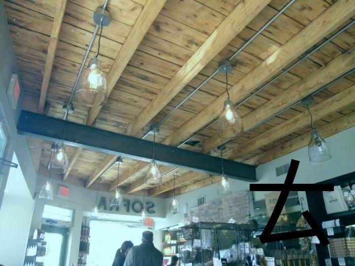 Beleuchtung Fur Freiliegende Holzbalkendecken Unglaubliche Deckentreppe Home Interior Kellerdecke Kuchendecken Kellerbeleuchtung