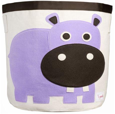 Köp 3 Sprouts Förvaringskorg Flodhäst | Barnrummet Förvaring | Jollyroom  #jollyroom #förvaring #barnrum #barnrumsinspo #förvaringsinspo