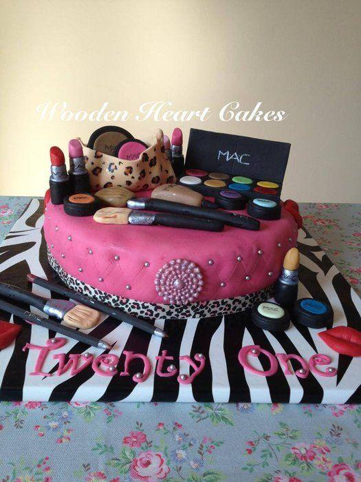 Girly Make Up Cake