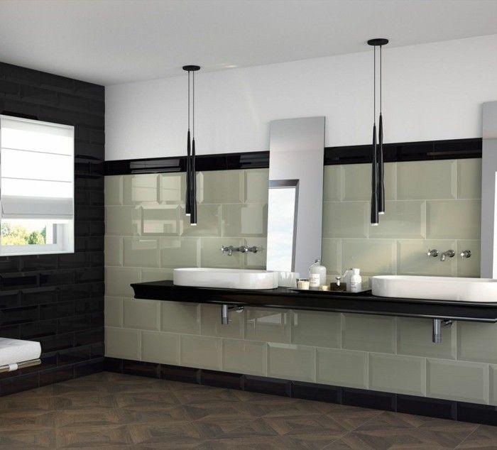 346 best badezimmer waschbecken fliesen badeinrichtung images on pinterest natural - Fliesenkombinationen bad ...