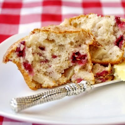 Partridgeberry Apple Muffins