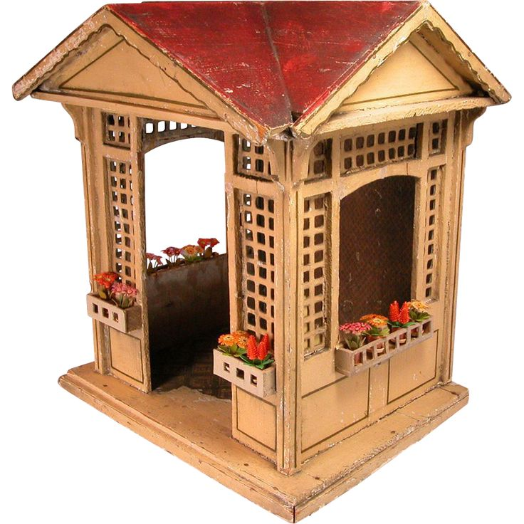 52 Best Dollhouse Gazebos Images On Pinterest