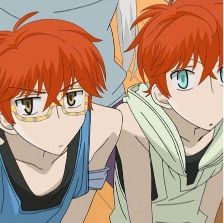 Mystic Messenger Ouran Highschool Host Club crossover(Saeyoung and Saeran/Hikaru and Kaoru)