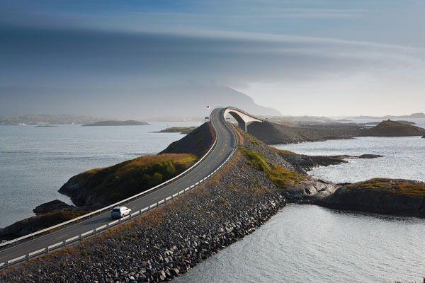 Midnight Sun Marathon - Norway. The Scenic Route