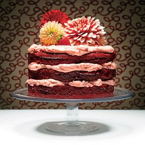 I want to try this for Mom's B'day...   The Red Velvet Cake | MyRecipes.com