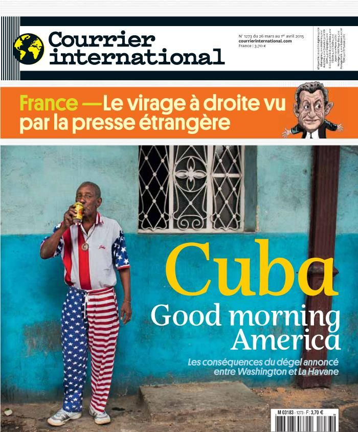 Courrier international 1273, du 26 mars 2015