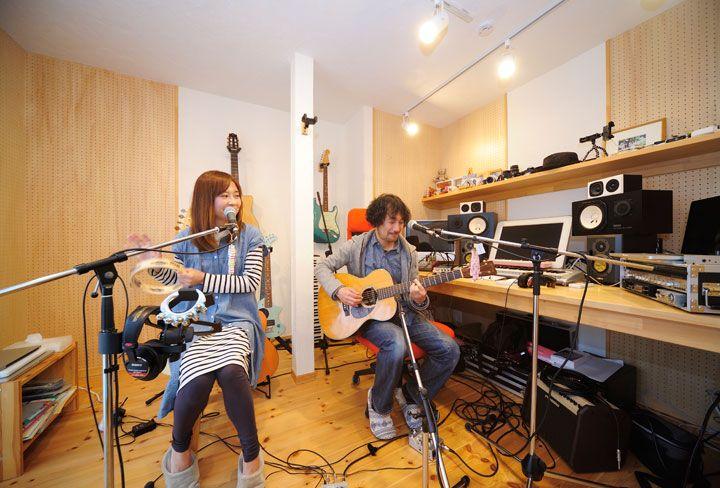 築35年の和室を防音つき音楽室にローコストで実現(1/4) - 快適リノベLIFE - NIKKEI 住宅サーチ