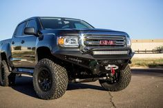 Buy Chevy Colorado / GMC Canyon HoneyBadger Winch Front Bumper