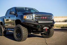 Buy Chevy Colorado / GMC Canyon HoneyBadger Winch Front Bumper