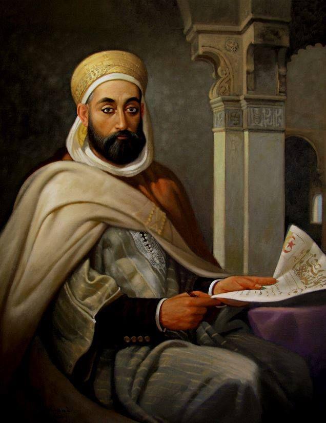"""لوحة للمبدع حسين زياني"""" ابن باديس"""""""