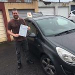 Huge congratulations to Russell who kept his cool and passed his Driving Test with a fantastic drive, after having Driving Lessons in Paignton with The Driving School sw. Russell passed with only 2 driver faults and his Driving Instructor Rob Gibson who works for The Driving School sw said Well done mate I hope now...