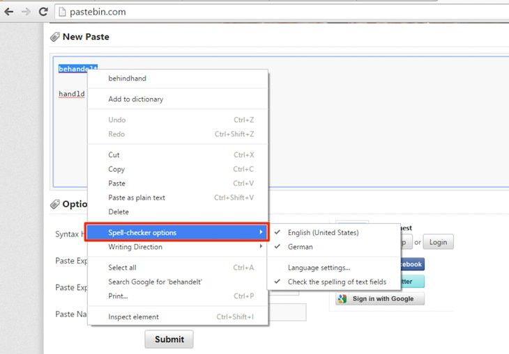 Sabías que El corrector ortográfico de Chrome funcionará en múltiples idiomas simultáneamente