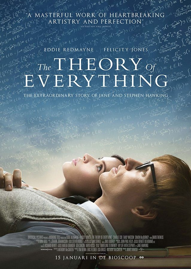 The Theory of Everything - the perfect movie. Totally in love