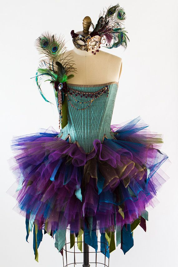 Hey, I found this really awesome Etsy listing at https://www.etsy.com/listing/202008563/adult-fairy-costume-size-s-peacock