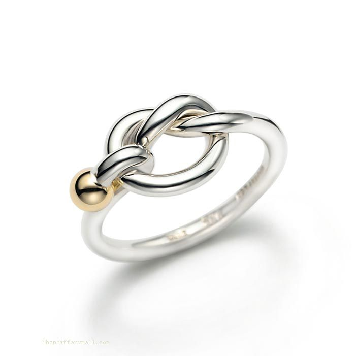 Tiffany & Co Outlet Gol Platin Ring