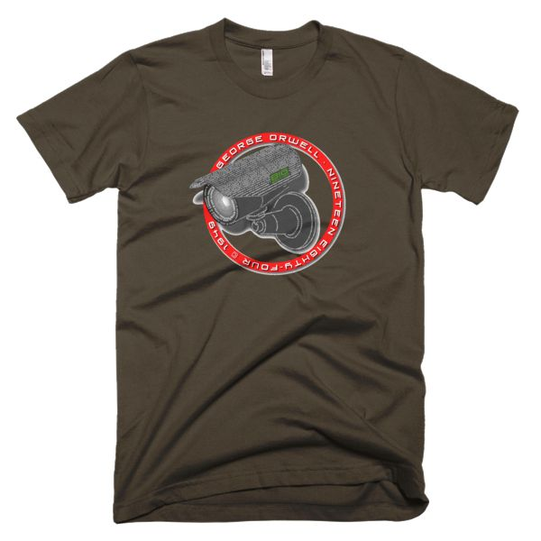 Big Brother is Watching Nineteen Eighty-Four Short Sleeve Men's T-Shirt