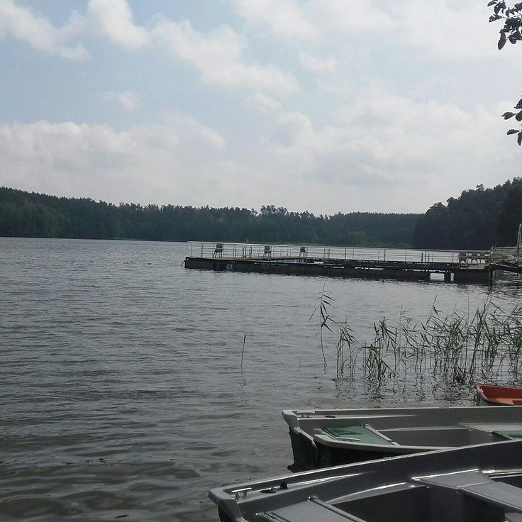 Jezioro i łudki