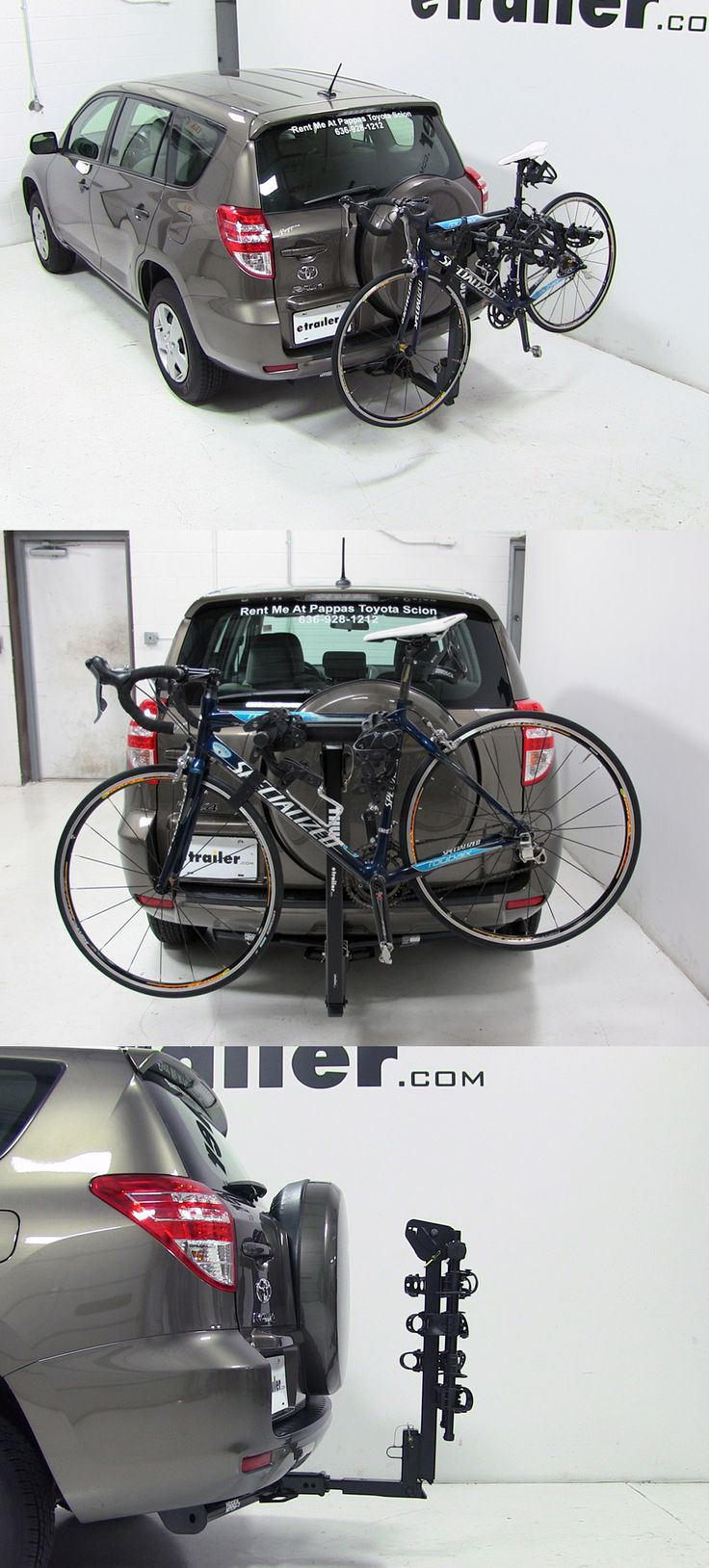 Need a trustworthy bike rack? The Thule Hitching Post Pro - Folding Tilting 4 Bike Rack is in the running when it comes to accessories. Read reviews, watch 'how to' installation videos and see which bike rack is best for your Toyota RAV4 and get biking!