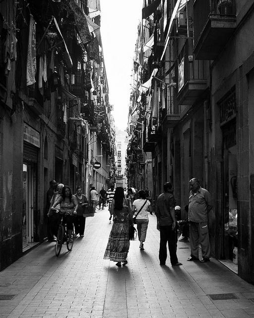El Raval Barcelona, August 13, 2011
