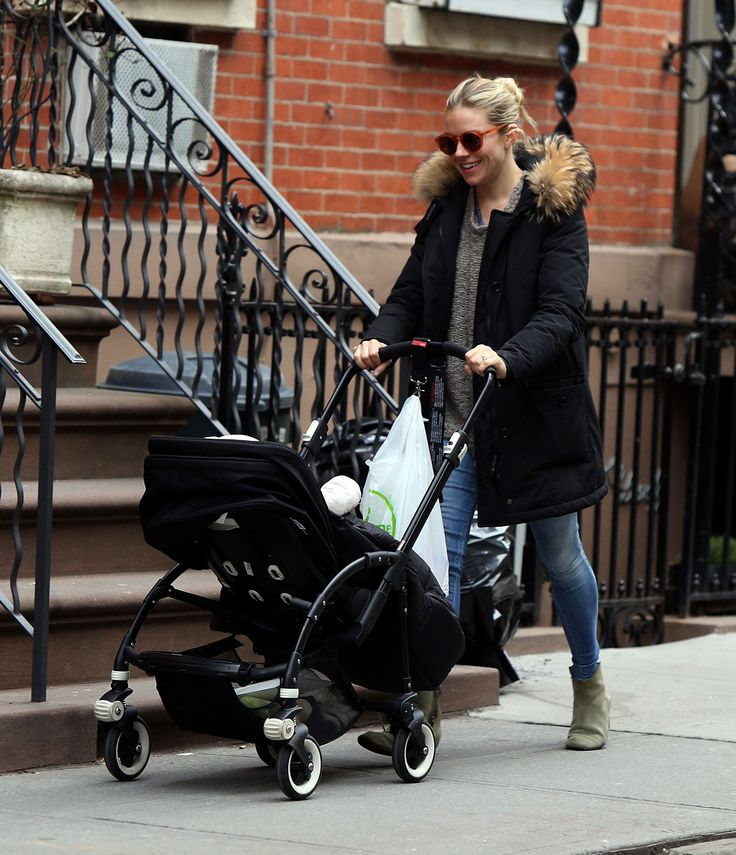 Sienna Miller Strolls Through the City With Baby Marlowe | Pictures here
