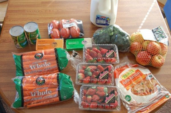 Gretchen's $38 Grocery Shopping Trip and Weekly Menu Plan