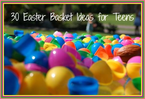 Here Are Our Top 30 Non Candy Easter Basket Ideas For