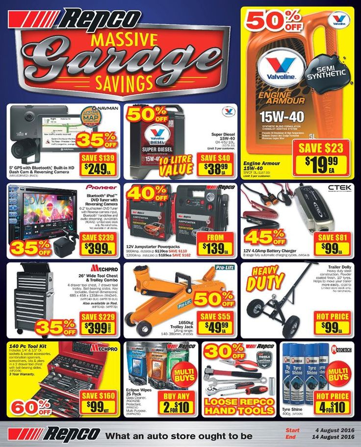 Repco Catalogue 4 - 14 August 2016…