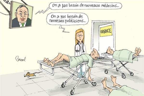 La caricature du jour - Mercredi 22 août (© Pascal Elie)