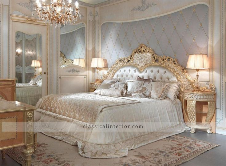 Golden Royal Classic Bedroom by Fratelli Allievi Furniture