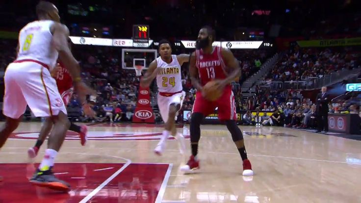 James Harden goes off for 30 points, 12 assists and 9 rebounds for the Houston Rockets