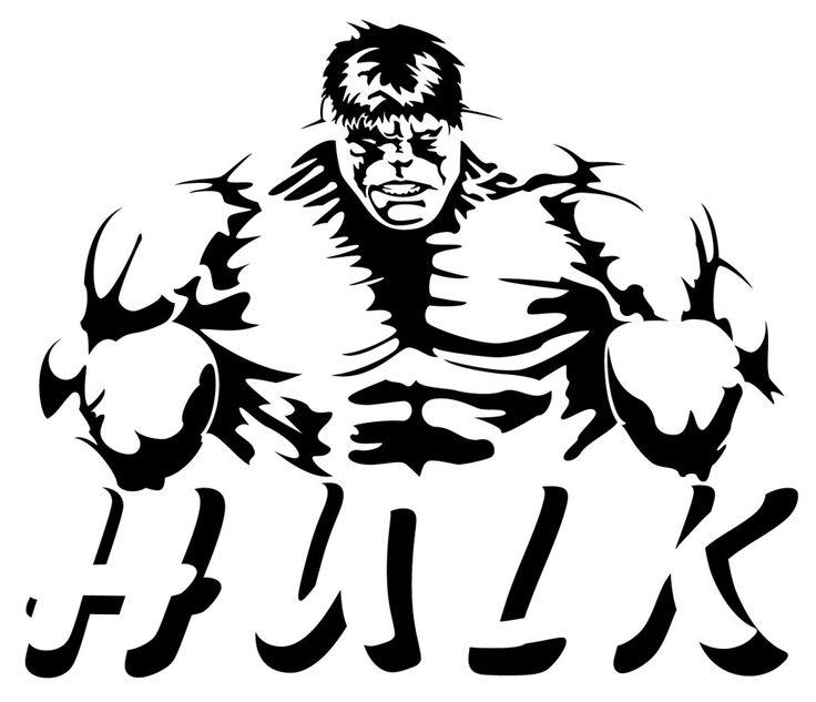 The Hulk Template Invitation Templates Cut Files
