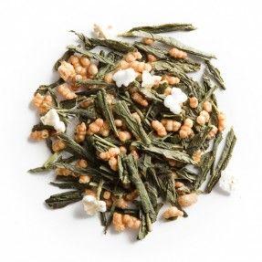 [JAPÓN] Genmaicha (té popcorn): mezcla de Bancha y genmai (grano de arroz tostado). Para la mezcla normalmente se utiliza té Bancha,   pero también se puede encontrar la mezcla hecha con Bancha (Bancha Genmaicha) o Gyokuro (Gyokuro Genmaicha). También podemos encontrar variaciones hechas a base de mezclas, como el (Matcha Iri Genmaicha) que en realidad es Genmaicha mezclado con Matcha para darle un toque de sabor y color.