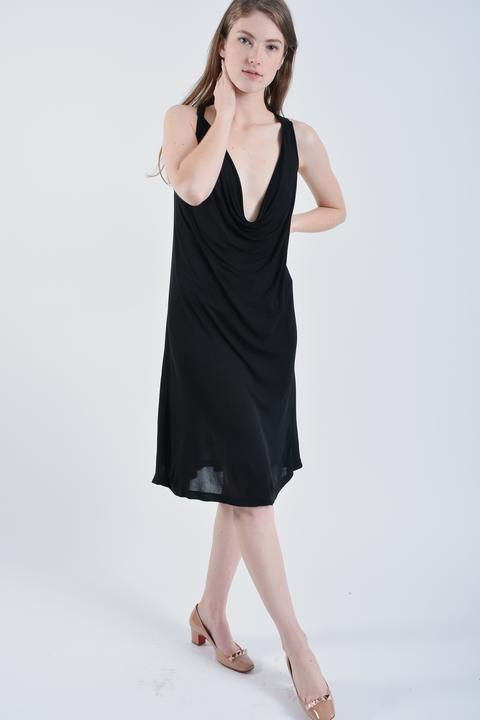 eeaa71bc90a McQ Black Dress Size S