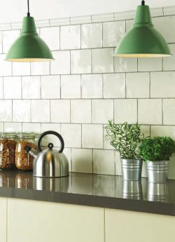 Winchester Tile Company Residence Range - Arcadian : Porcelain File Tile 130x130 Display with Moudlings