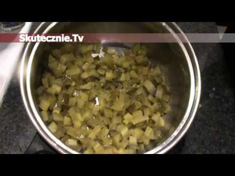 Sałatka ziemniaczana z ogórkiem i śmietaną :: Skutecznie.Tv [HD] - YouTube