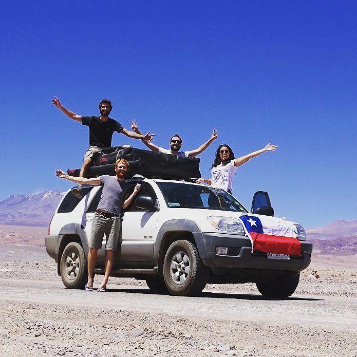 La aventura no se detiene! ORC va contigo! www.orc.cl #orcchile #carpadetecho #toldoslaterales #camping