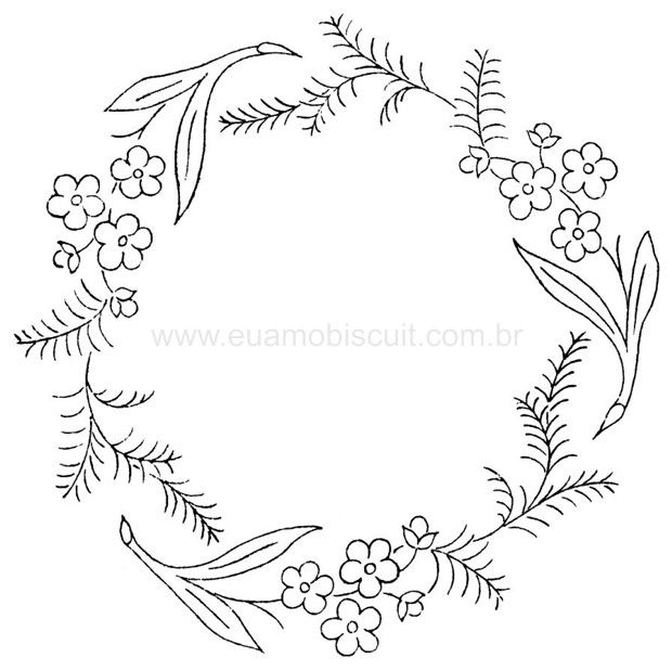 ::ARTESANATO VIRTUAL - Tecnicas de Artesanato | Dicas para Artesanato | Passo a Passo. Embroidery Pattern. jwt